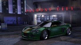 NFSC Lotus EuropaS CustomGreen