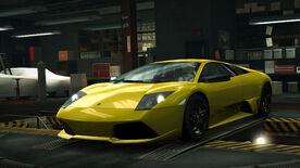 NFSW Lamborghini Murcielago LP 640 Yellow