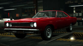 NFSW Plymouth Road Runner Red