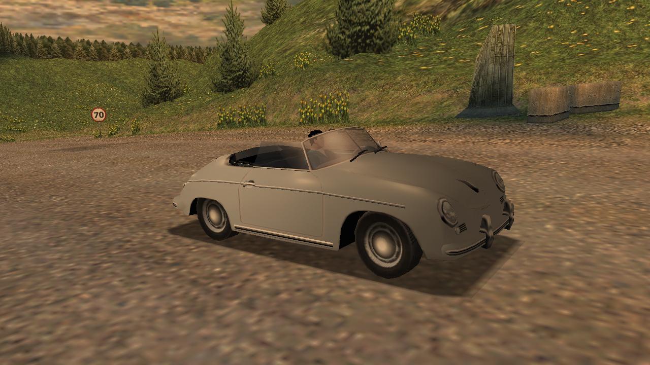 Porsche 356 A 1600 Super Convertible D