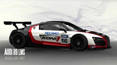 Audi R8 LMS Turntable Render