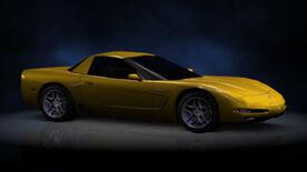 NFSHP2 PS2 Chevrolet Corvette Z06