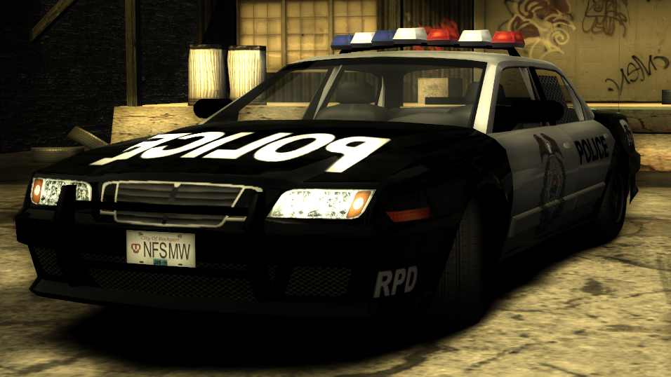 Police Civic Cruiser