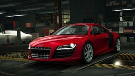 NFSW Audi R8 Coupe 52 FSI quattro Red