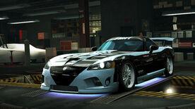 NFSW Dodge Viper SRT10 Blue Juggernaut