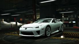 NFSW Lexus LFA White