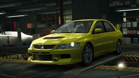 NFSW Mitsubishi Lancer Evolution IX MR-Edition Yellow