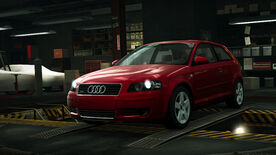 NFSW Audi A3 32 quattro Red