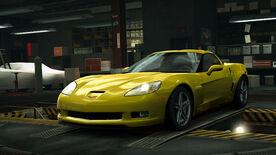 NFSW Chevrolet Corvette Z06 Yellow