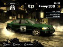 NFSMW05 Courtesy Car