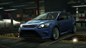 NFSW Ford Focus RS Blue