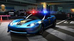HPRM Chevrolet Corvette ZR1 2009 SCPD