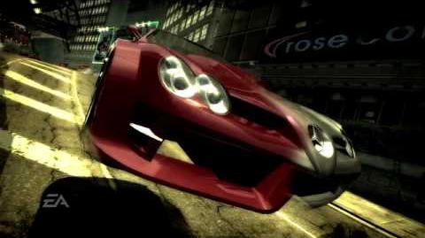 Need for Speed Most Wanted - Exotic Cars