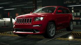NFSW Jeep Grand Cherokee SRT Red