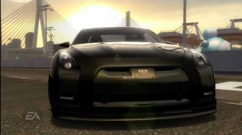 Need for Speed Pro Street Nissan GT-R Proto Reveal Trailer