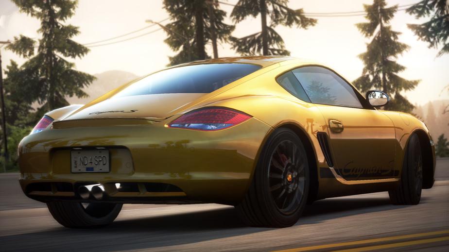 Porsche Cayman S (2009)
