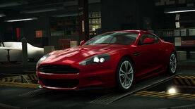 NFSW Aston Martin DBS Red