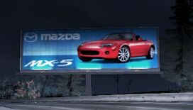 Carbon MazdaMX5Sign