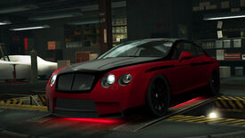 NFSW Bentley Continental Supersports Red Juggernaut