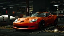 NFSW Chevrolet Corvette Z06 Carbon Limited Edition Orange
