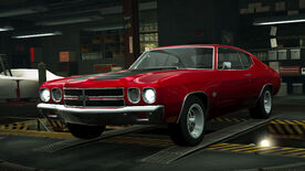 NFSW Chevrolet Chevelle SS Red