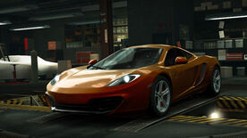 NFSW McLaren KP4-12C Orange