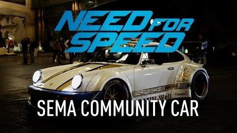 Need for Speed - SEMA Community Car