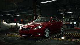 NFSW Lexus IS350 Red