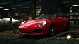 NFSW Porsche Boxster Spyder Red