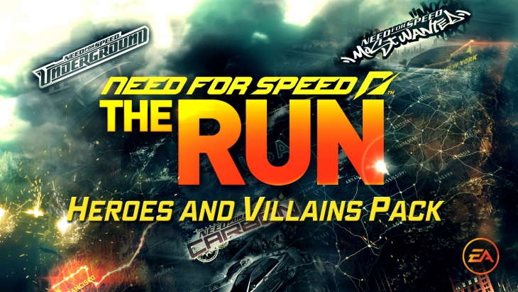 Need for Speed: The Run/Heroes and Villains Pack