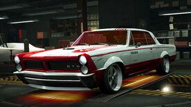NFSW Pontiac GTO 1965 Red Juggernaut