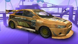 NFSPS PSP MitsubishiLancerEvolutionX RaceVersion