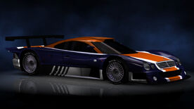 NFSHP2 PS2 Mercedes CLK-GTR NFS edition