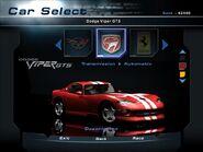 NFSHP2 Dodge Viper GTS PC