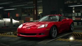 NFSW Chevrolet Corvette Z06 Red