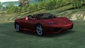 NFSHP2 PC Ferrari 360 Spider