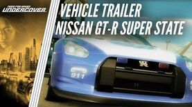 Need for Speed Undercover - Nissan GT-R Super State Trailer