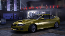 NFSC Pontiac GTO CustomYellow