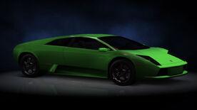 NFSHP2 PS2 Lamborghini Murciélago NFS edition