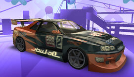 NFSPS PSP NissanSkylineGTRR34 RaceVersion