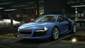 NFSW Audi R8 Coupe FSI quattro Blue