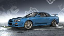 NFSPS Nissan Skyline GT-R V-Spec R34