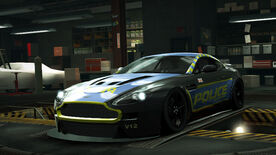 NFSW Aston Martin V12 Vantage Cop