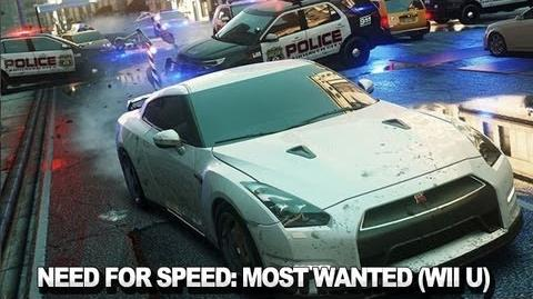Need for Speed Most Wanted - Wii U Developer Commentary