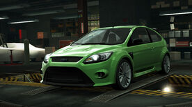 NFSW Ford Focus RS Green