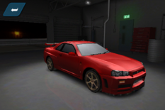 Nissan Skyline GT-R R34 Shift 2 Unleashed Mobile