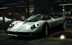 Nfs world pagani zonda f