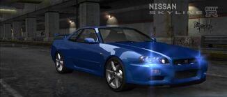 U nissan Skyline GT-R R34