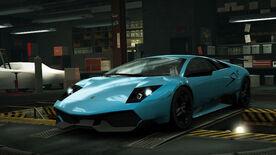 NFSW Lamborghini Murcielago LP670-4 SuperVeloce Blue