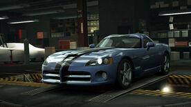 NFSW Dodge Viper SRT10 Blue